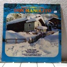 Discos de vinilo: DON MANOLITO . Lote 140855670