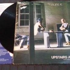 Discos de vinilo: YAZOO - UPSTAIRS AT ERIC'S - MUTE 1982 CON LETRAS - RCA .. Lote 140857486