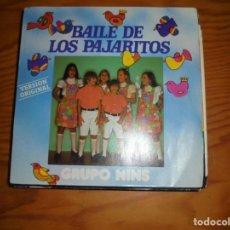 Discos de vinilo: GRUPO NINS. EL BAILE DE LOS PAJARITOS. CARDISC, 1981. Lote 140862838