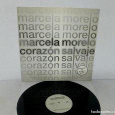 Discos de vinilo: MARCELA MORELO - CORAZÓN SALVAJE - MAXI SINGLE- ARIOLA 1988 SPAIN REMIXES BY PUMPIN DOLLS. Lote 140863474