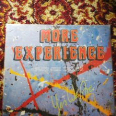 Discos de vinilo: INCREIBLE LP MORE EXPERIENCE PLAYS JIMI HENDRIX- YES WE ARE,FIRMADO M.AEBY, H.IMBODEN, M.PULVER 1990. Lote 140866742
