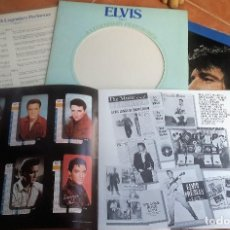 Discos de vinilo: ELVIS PRESLEY 2 LP/BOOK A LEGENDARY..VOL.2 PROMO RADIO SPAIN COPY 1976 * MUY RARO * PERFECTO ESTADO. Lote 140870694