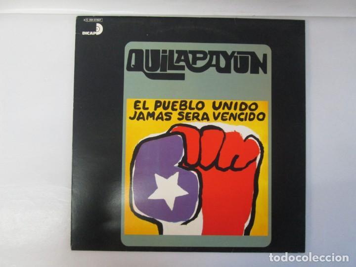 Discos de vinilo: QUILAPAYUN. 4 LP VINILO. EL PUEBLO UNIDO JAMAS SERA VENCIDO. CANTATE POPULAIRE. CUECA DE LA LIBERTAD - Foto 27 - 175631408