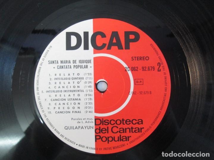 Discos de vinilo: QUILAPAYUN. 4 LP VINILO. EL PUEBLO UNIDO JAMAS SERA VENCIDO. CANTATE POPULAIRE. CUECA DE LA LIBERTAD - Foto 7 - 175631408