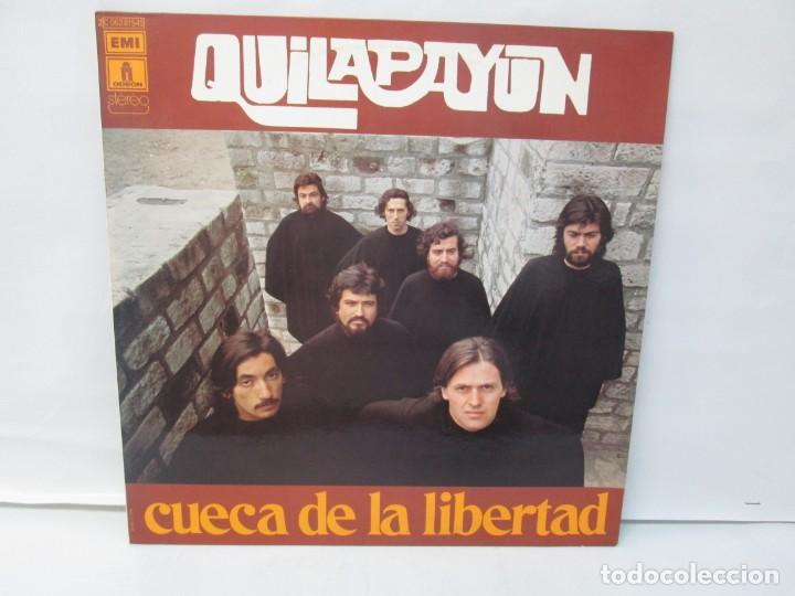 Discos de vinilo: QUILAPAYUN. 4 LP VINILO. EL PUEBLO UNIDO JAMAS SERA VENCIDO. CANTATE POPULAIRE. CUECA DE LA LIBERTAD - Foto 9 - 175631408
