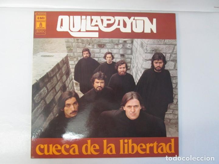 Discos de vinilo: QUILAPAYUN. 4 LP VINILO. EL PUEBLO UNIDO JAMAS SERA VENCIDO. CANTATE POPULAIRE. CUECA DE LA LIBERTAD - Foto 10 - 175631408