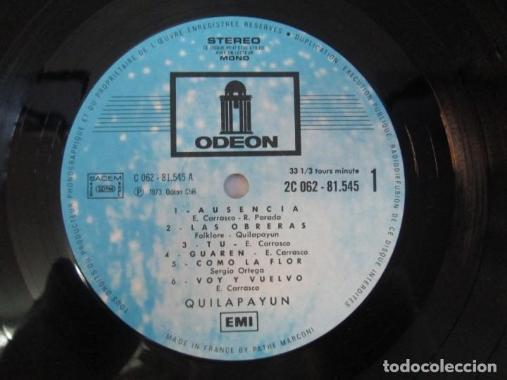 Discos de vinilo: QUILAPAYUN. 4 LP VINILO. EL PUEBLO UNIDO JAMAS SERA VENCIDO. CANTATE POPULAIRE. CUECA DE LA LIBERTAD - Foto 12 - 175631408