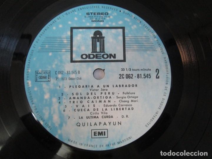 Discos de vinilo: QUILAPAYUN. 4 LP VINILO. EL PUEBLO UNIDO JAMAS SERA VENCIDO. CANTATE POPULAIRE. CUECA DE LA LIBERTAD - Foto 14 - 175631408