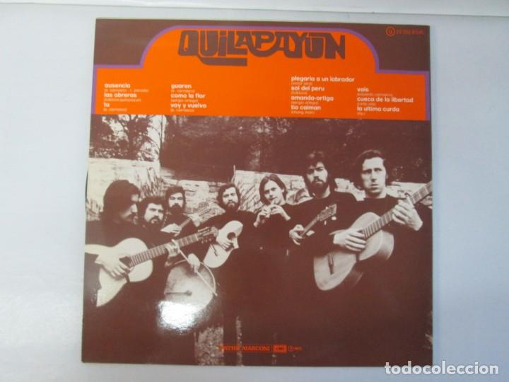 Discos de vinilo: QUILAPAYUN. 4 LP VINILO. EL PUEBLO UNIDO JAMAS SERA VENCIDO. CANTATE POPULAIRE. CUECA DE LA LIBERTAD - Foto 15 - 175631408