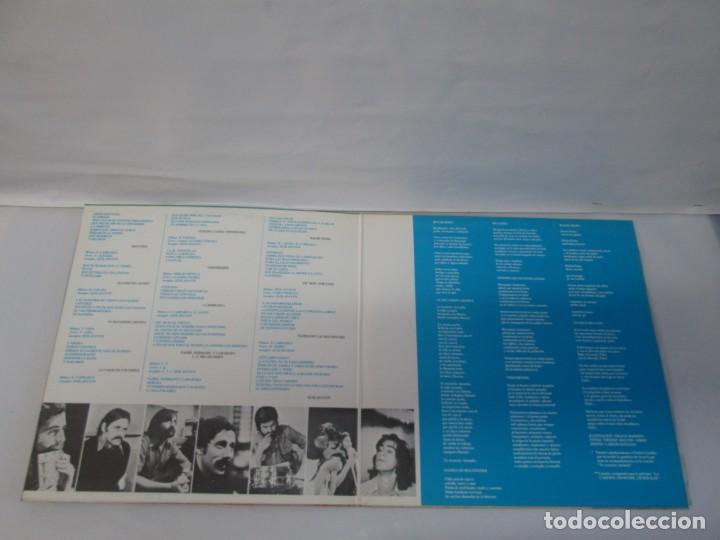 Discos de vinilo: QUILAPAYUN. 4 LP VINILO. EL PUEBLO UNIDO JAMAS SERA VENCIDO. CANTATE POPULAIRE. CUECA DE LA LIBERTAD - Foto 19 - 175631408