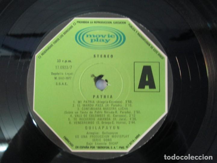 Discos de vinilo: QUILAPAYUN. 4 LP VINILO. EL PUEBLO UNIDO JAMAS SERA VENCIDO. CANTATE POPULAIRE. CUECA DE LA LIBERTAD - Foto 21 - 175631408