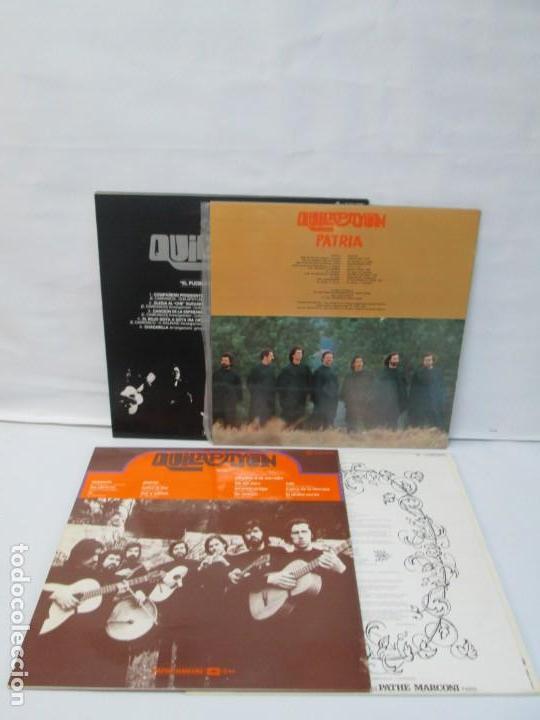 Discos de vinilo: QUILAPAYUN. 4 LP VINILO. EL PUEBLO UNIDO JAMAS SERA VENCIDO. CANTATE POPULAIRE. CUECA DE LA LIBERTAD - Foto 25 - 175631408