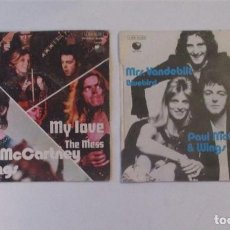 Discos de vinilo: DOS SINGLES PAUL MACCARTNEY & WINS. Lote 140871970