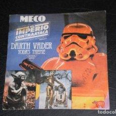 Discos de vinilo: EL IMPERIO CONTRAATACA (DARTH VADER YODA'S THEME) SINGLE ESPAÑA 1980 . Lote 140873662
