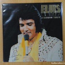 Discos de vinilo: ELVIS - A CANADIAN TRIBUTE - VINILO AMARILLO - LP. Lote 140877662