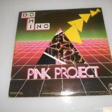 Discos de vinilo: LP - PINK PROJECT - DOMINO - DOBLE DISCO, ORIGINAL ESPAÑOL, BABY RECORDS 1983. Lote 140878682