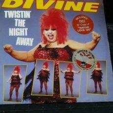 Discos de vinilo: DIVINE - TWISTIN THE NIGHT AWAY - ESPECIAL CONTIENE OTRO LP EL MAXI NATIVE LOVE 84 - COLECCIONISTAS. Lote 140884014