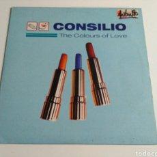 Discos de vinilo: CONSILIO - THE COLOURS OF LOVE. Lote 140884614