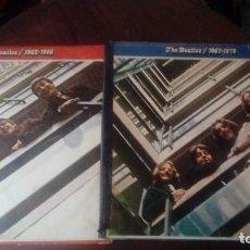 Discos de vinilo: CUATRO DISCOS DE THE BEATLES DE 33 RPM DE 1973 CON ETIQUETA MUESTRA INVENDIBLE DESTINADA A PROMOCION. Lote 140885418