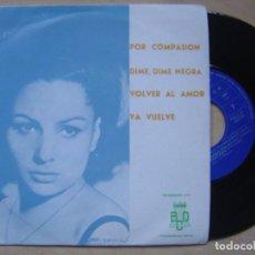 Discos de vinilo: ORQUESTA FANTASIA Y NARBO - POR COMPASION - EP PROMOCIONAL 1971 - BCD. Lote 140885926