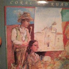 Discos de vinilo: LP CORAL DE RUADA-OURENSE--BUEN ESTADO. Lote 140888214