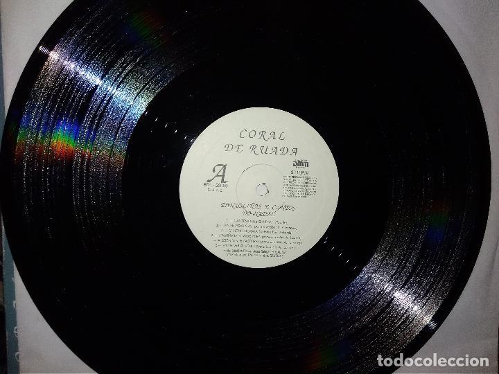 Discos de vinilo: LP CORAL DE RUADA-OURENSE--BUEN ESTADO - Foto 6 - 140888214