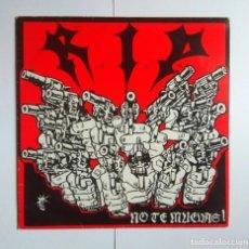 Discos de vinilo: RIP NO TE MUEVAS LP R.I.P BASATI DISKAK 1988 BDE005 . Lote 140892770