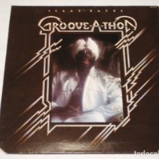 Discos de vinilo: ISAAC HAYES ( GROOVE-A-THON ) ''CON POSTER'' USA-1976 LP33 ABC RECORDS. Lote 140908134