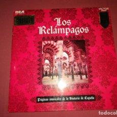 Discos de vinilo: LOS RELAMPAGOS. Lote 140908426