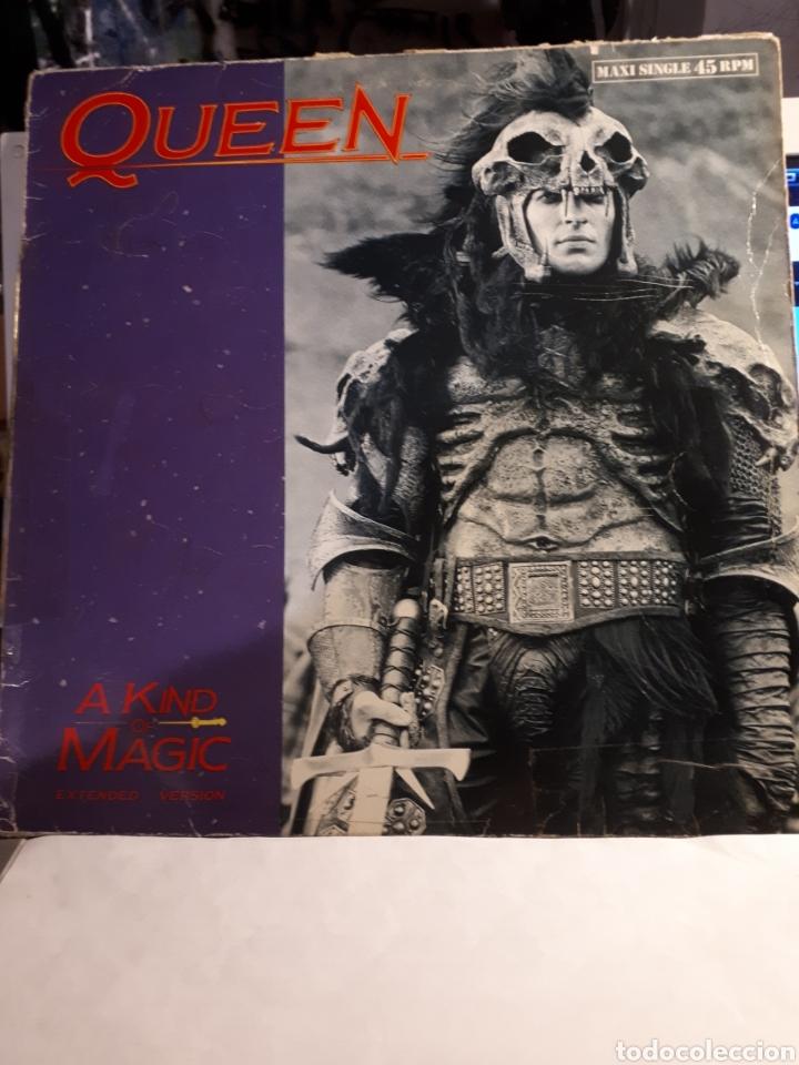 QUEEN-A KINDER OF MAGIC (EXTENDED VERSIÓN) (Música - Discos de Vinilo - Maxi Singles - Pop - Rock Extranjero de los 70)