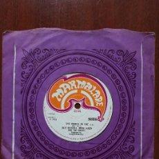 Disques de vinyle: JULIO DRISCOLL BRIAN AUGER & THE TRINITI- THE WHEEL'S ON FIRE +1- SINGLE MARMALADE 1968. Lote 140912086