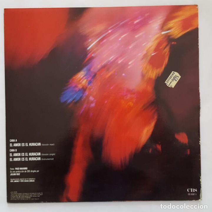 Vinyl-Schallplatten: MAXI / VICKY LARRAZ / EL AMOR ES EL HURACAN - Foto 2 - 140916358