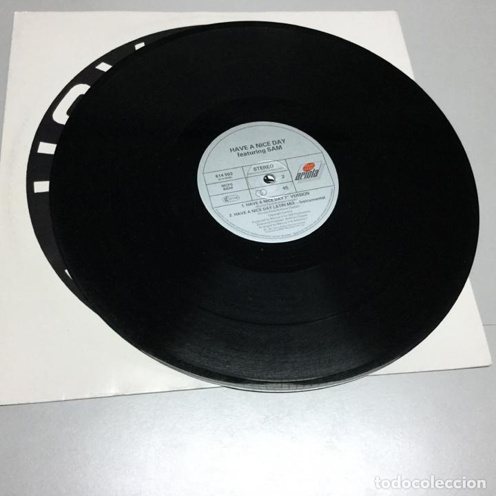 Discos de vinilo: Have a nice day featuring Sam .ref 169 - Foto 3 - 140918562