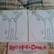 Discos de vinilo: DOBLE LP RED HOT + DANCE. GEORGE MICHAEL, MADONNA, SLY & THE FAMILY STONES. EPIC 1992. Lote 140921982