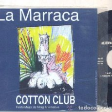 Discos de vinilo: LA MARRACA: COTTON CLUB, PLEASURE FUCKERS, BUM, VIVORAS, DR. EXPLOSION. Lote 140924386