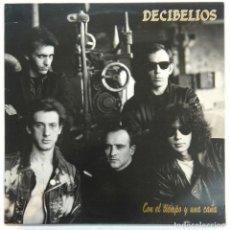 Disques de vinyle: DECIBELIOS -CON EL TIEMPO Y UNA CAÑA. Lote 140925114