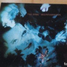 Discos de vinilo: THE CURE DISINTEGRATION LP SPAIN 1989 CON INSERTO. Lote 140925422
