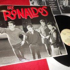 Discos de vinilo: LOS RONALDOS LP 1987 EMI COQUE MALLA MOVIDA POP. Lote 140925542