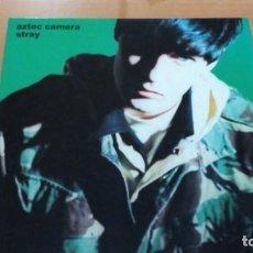 Discos de vinilo: AZTEC CAMERA STRAY LP SPAIN INSERTO. Lote 140927102