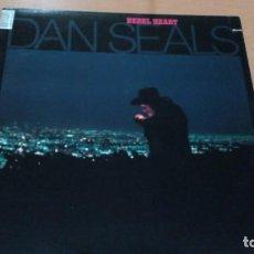 Discos de vinilo: DAN SEALS REBEL HEART LP U.S.A. Lote 140928314