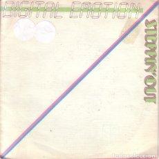 Vinyl-Schallplatten - DIGITAL EMOTION - STEPPIN' OUT - SINGLE Blanco y Negro spain 1985 - 140930610