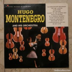 Discos de vinilo: HUGO MONTENEGRO AND HIS ORCHESTRA - TIME RECORDS STEREO 1964 - SERIES 2000 - . Lote 140930738
