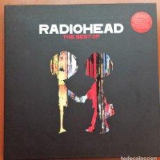 Discos de vinilo: RADIOHEAD THE BEST OF- BOX 4 LP VINYL. Lote 140932190