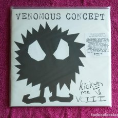 Discos de vinilo: VENOMOUS CONCEPT - KICK ME SILLY VCIII 12'' LP GATEFOLD PRECINTADO - HARDCORE PUNK. Lote 140933314