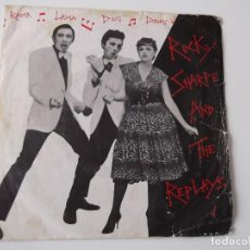 Discos de vinilo: ROCKY SHARPE AND THE REPLAYS - RAMA LAMA DING DONG. Lote 140936246