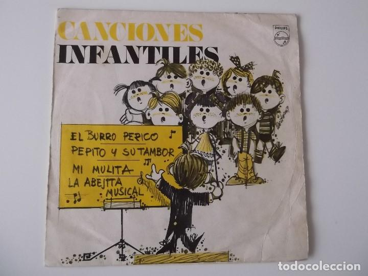 CORO DE LAS ESCUELAS AVEMARIANAS - CANCIONES INFANTILES - EL BURRO PERICO (Música - Discos - Singles Vinilo - Música Infantil)