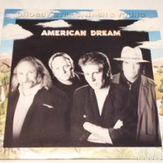Discos de vinilo: CROSBY, STILLS, NASH & YOUNG ( AMERICAN DREAM ) USA-1988 LP33 ATLANTIC. Lote 140937670