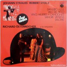 Discos de vinilo: RICHARD ÖSTERREICHERB Y SU ORQUESTA - LP SPAIN 1978 - NOVOLA / AMADEO ZL-236. Lote 140949846