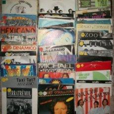 Discos de vinilo: DISCOS (LOTE DE 75 DISCOS DE PROMOCION (1 CANCION). Lote 140950190