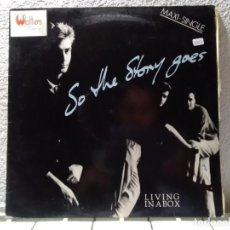 Discos de vinilo: SO THE STORY GOES. Lote 140971746